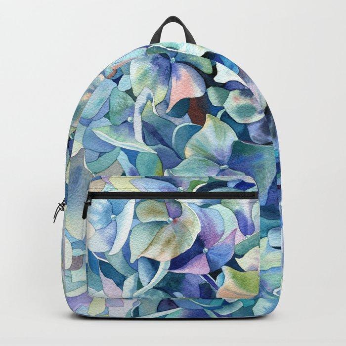 """Marine hydrangea"" Backpack"