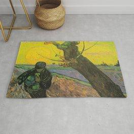 The Sower, by Vincent van Gogh Rug