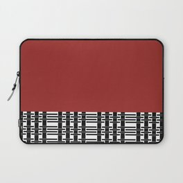 Red Brick And Lace Laptop Sleeve