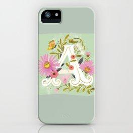 Artsy Alphabet iPhone Case