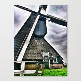 Kinderdijk Windmill The Netherlands Canvas Print