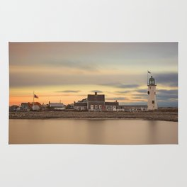 Scituate Harbor Lighthouse Rug