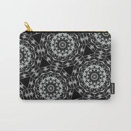 Geometric Mandala Carry-All Pouch