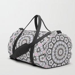 Black Lace Duffle Bag