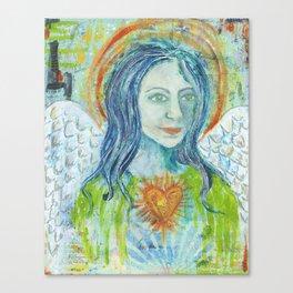 Fierce Heart (Love and Light) Canvas Print