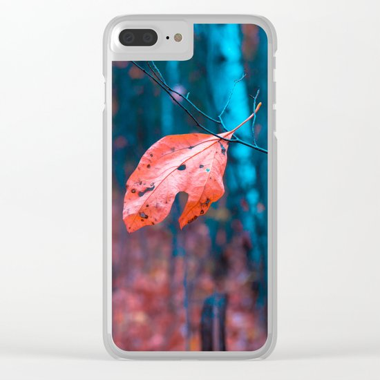 Misplaced Clear iPhone Case