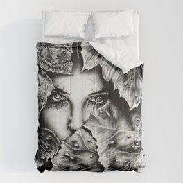 Veiled Shadow Comforters