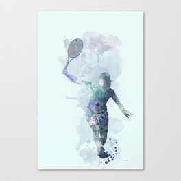 Tennis Player 2 Canvas Print