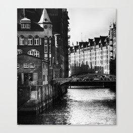 Speicherstadt IV Canvas Print