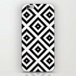 Tribal W&B iPhone Skin