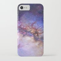 milky way iPhone & iPod Cases featuring Milky Way by Trisha Thompson Adams