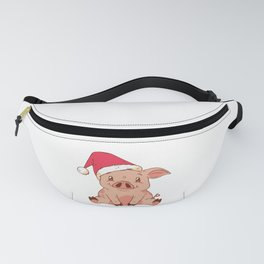 Christmas Pig Fanny Pack
