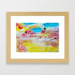 ''Summer Daze'' by Jolene Ejmont Framed Art Print