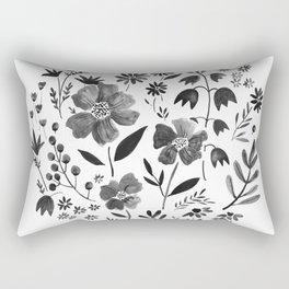 GARDEN GRAY Rectangular Pillow