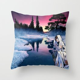To the Bone Throw Pillow