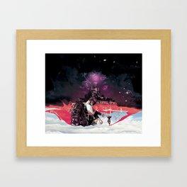 Play war Framed Art Print