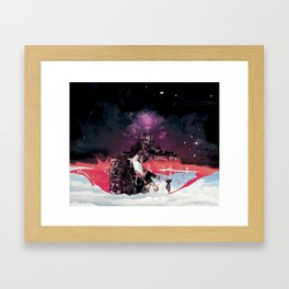 Play war Framed Art Print