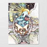 audi Canvas Prints featuring Audi Vide Tace by fINK aRT sTUDIO