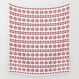 Christmas Stitch Wall Tapestry