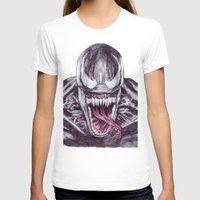 venom T-shirts featuring Venom by DeMoose_Art