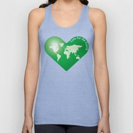 Love for the Earth_G Unisex Tank Top