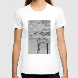 Black and white sky T-shirt