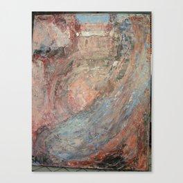 acrylic abstract  Canvas Print