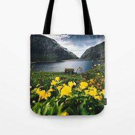 Cabin in Saksun - Faroe Islands Tote Bag