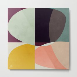 shapes abstract Metal Print