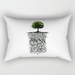 Know your Roots Rectangular Pillow