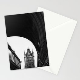 Tower Bridge Abstract Stationery Cards