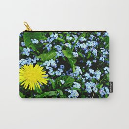 Yellow Rules Carry-All Pouch