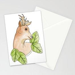 Leaf the Deer Alone Stationery Cards