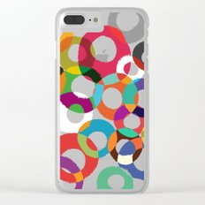 Loop Hoop Clear iPhone Case