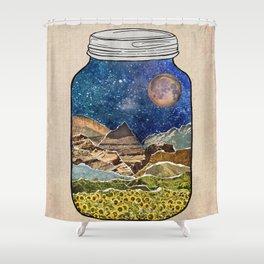Star Jar Shower Curtain