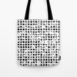 Controlled Randomness Tote Bag