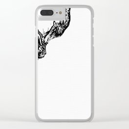 Gravity Always Wins Clear iPhone Case