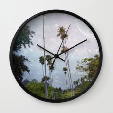 Summer Night Wall Clock