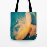 banana Tote Bags featuring Banana by Mr and Mrs Quirynen