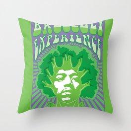 Broccoli Experience Throw Pillow