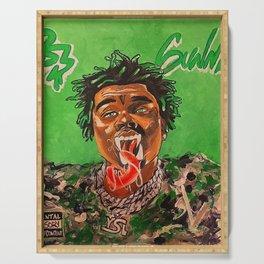 gunna,ds3,drip season 3,rapper,album,poster,wall art,fan art,music,hiphop,rap,rapper Serving Tray