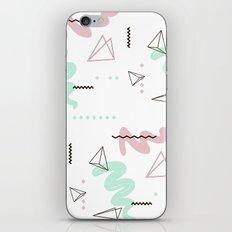 Geometry galaxy iPhone Skin
