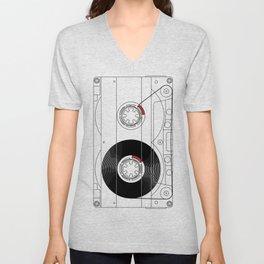 Cassette Unisex V-Neck
