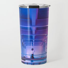 Glitchy Dreams Of You Travel Mug