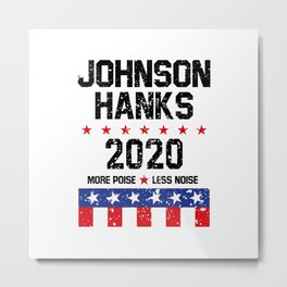 johnson hanks Metal Print