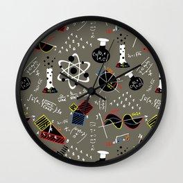 Science Fair Wall Clock