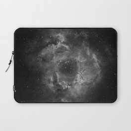 Stars and Space Dust B&W Laptop Sleeve