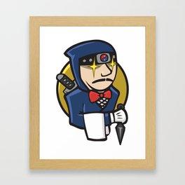 Ninja Jenkins Framed Art Print