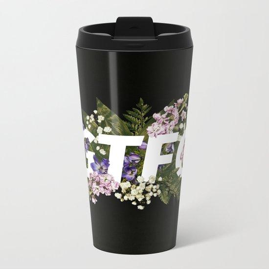 GTFO Metal Travel Mug