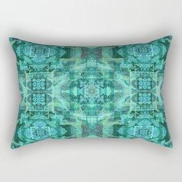 Tibetan Boho Mandala Rectangular Pillow